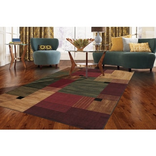 Clay Alder Home Bethany Color Block Multi Rug (6' x 9')