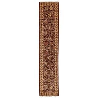 Ziegler Chocolate New Zealand Wool Rug (2'7 in. X 12'5 in. Runner)