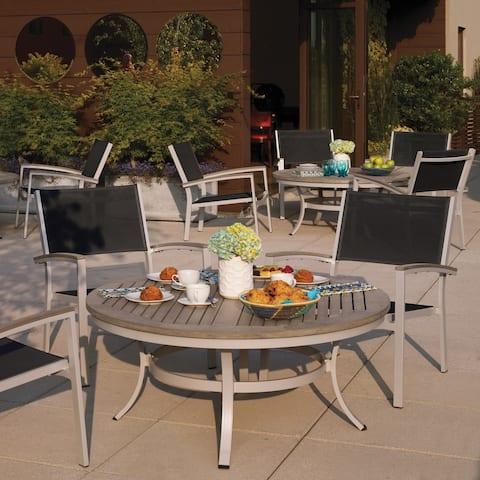 Oxford Garden Travira 5 Piece Cafe Set, Vintage Tekwood