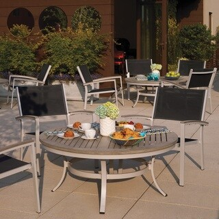 Oxford Garden Travira 5 Piece Café Set, Vintage Tekwood