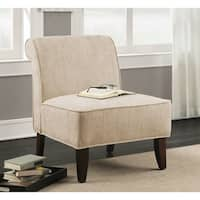 Laurel Creek Sadie Slipper Vintage Creme Accent Slipper Chair