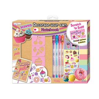 Sweet Crush Scented Decorate Your Own Notebook