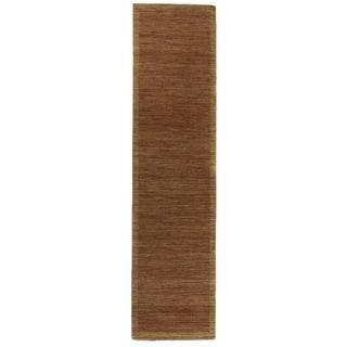 Buckingham Rust/Beige New Zealand Wool Rug (2'6 in. X 10' Runner)
