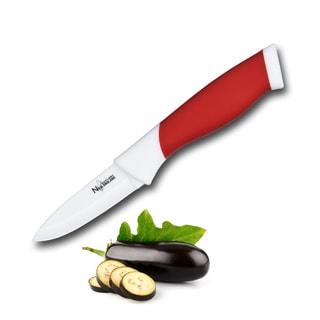 Culinary Edge by Kalorik Premium 3'' Red Ceramic Paring Knife