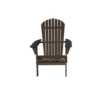 Deluxe Poly Comfort Height Adirondack Chair Free