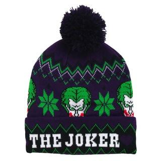 Batman Joker Pom Pom Beanie