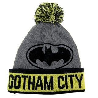 Batman Gotham City Pom Pom Beanie