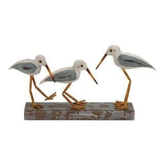 The Mesmerizing Wood Metal 3 Birds On Stand