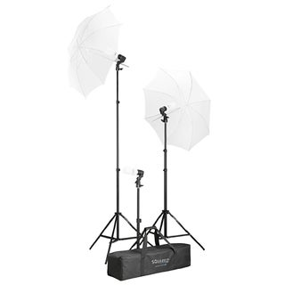 Square Perfect Photo Studio Continuous Lighting Umbrella Photography Stand Light