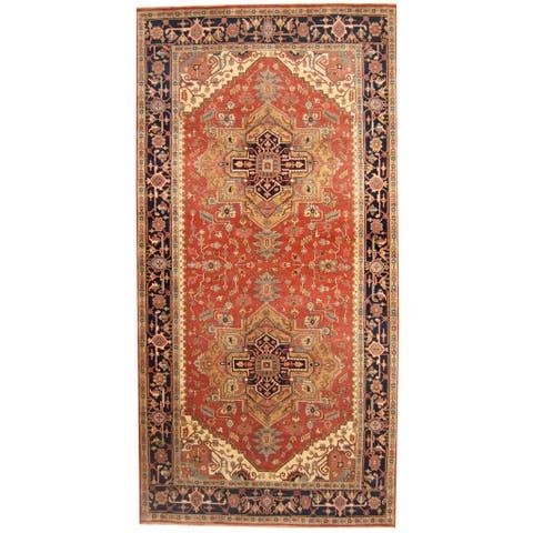 Handmade Serapi Wool Runner (India) - 8'9 x 20'9