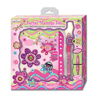 Flower Meadow Secret Message Set with Passcode Lock