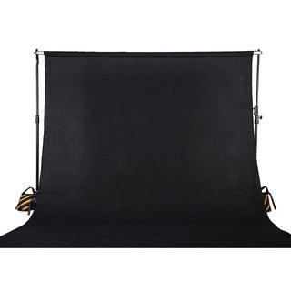 Square Perfect 10 x 13 Feet Black or White Muslin Photography Backdrop