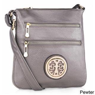 MKF Collection Aline Crossbody Shoulder Bag by Mia K. Farrow (Option: petwer)