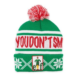 Elf 'Don't Smell Like Santa' Beanie