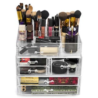 Large Acrylic Drawers with 15-section Makeup Organizer|https://ak1.ostkcdn.com/images/products/11735948/P18654188.jpg?impolicy=medium