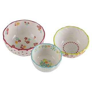 TAG Flower Bowls (Set of 3)