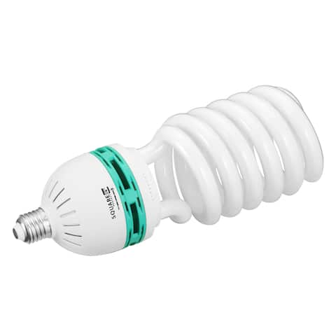 Square Perfect Compact Fluorescent Full Spectrum Photography Bulb (100W, 85W, 65W)