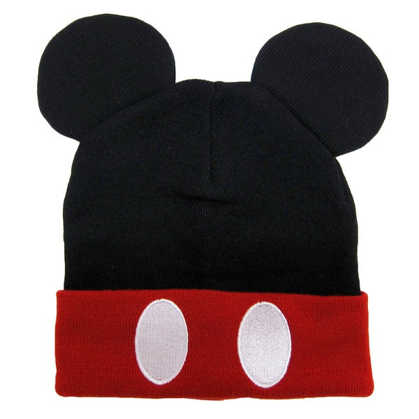 Shop Mickey Mouse Ears Beanie Free Shipping On Orders Over 45