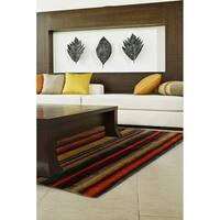 Mohawk Home New Wave Boho Stripe Multi (6' x 9') - 6' x  9'