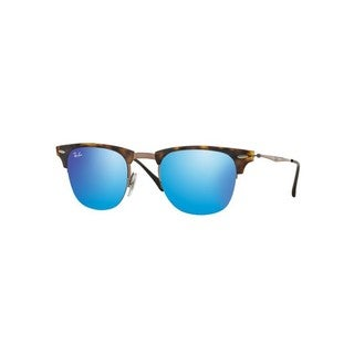 Ray-Ban RB8056 175/55 49mm Blue Mirror Lenses Tortoise/Brown Frame Sunglasses