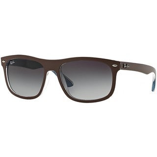 Ray-Ban RB4226 61898G 56mm Grey Gradient Lenses Brown Frame Sunglasses