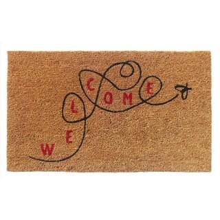 'Welcome' Coir Doormat