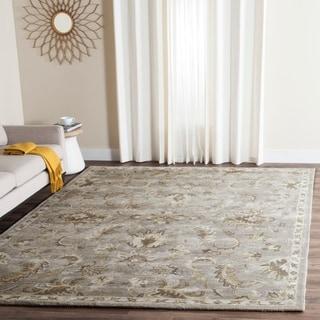 Safavieh Handmade Bella Light Grey/ Multi Wool Rug (6' x 9')