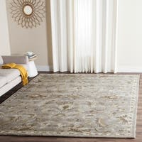 Safavieh Handmade Bella Light Grey/ Multi Wool Rug - 6' x 9'