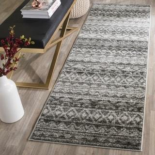 Safavieh Adirondack Ivory/ Charcoal Rug (2' 6 x 6')