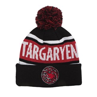 Game Of Thrones Targaryen Pom Pom Beanie