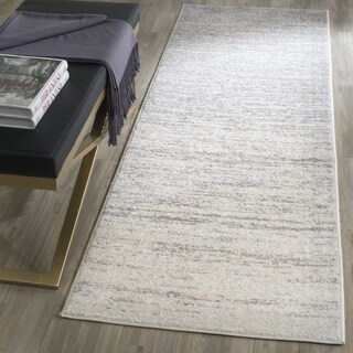 Safavieh Adirondack Vintage Ombre Ivory / Silver Runner Rug (2'6 x 12')