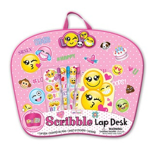 Hot Focus Emoji Scribble Lap Desk