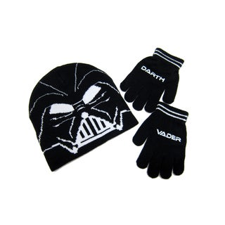 Star War Darth Vader Beanie and Glove