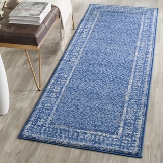 Safavieh Adirondack Light Blue/ Dark Blue Rug (2' 6 x 20')