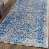 Safavieh Adirondack Vintage Distressed Grey / Blue Runner Rug (2'6 x 20')