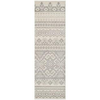 Safavieh Adirondack Ivory/Silver Rug (2' 6 x 18')