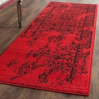 Safavieh Adirondack Red/Black Rug (2' 6 x 14')