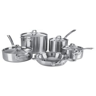 Viking 5-Ply 4515-1S10S 10-Piece Cookware Set Stainless Steel