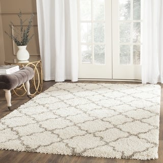 Safavieh Hudson Shag Ivory/ Grey Rug (2' 3 x 3' 9)