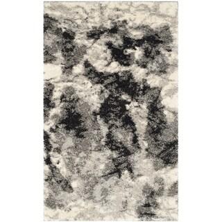 Safavieh Retro Modern Abstract Cream/ Grey Rug (2' 6 x 4')