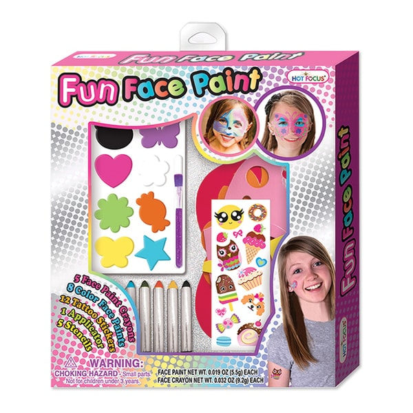 Hot Focus Fun Face Paint