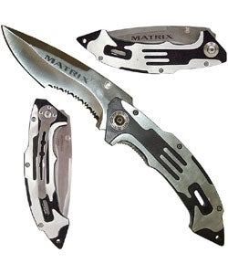 Matrix Stainless Steel Folding Knife