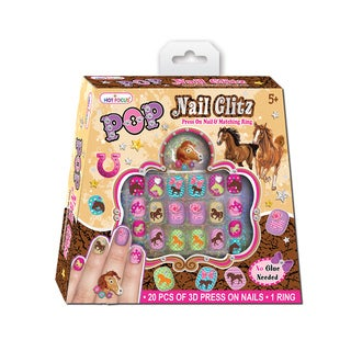 Hot Focus Magic Safari Pop Nail Glitz