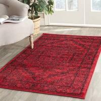 Safavieh Adirondack Vintage Red/ Black Rug (2'6 x 4')