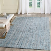 Safavieh Handmade Modern Abstract Blue/ Multi Rug - 6' x 9'