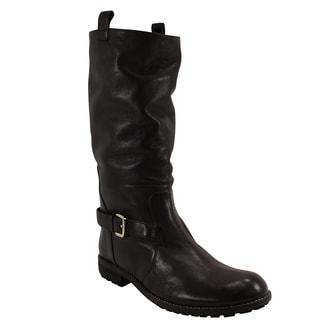 Patrizia Pepe Women's Brown Mid-Calf Boots Size 10 (40 IT)
