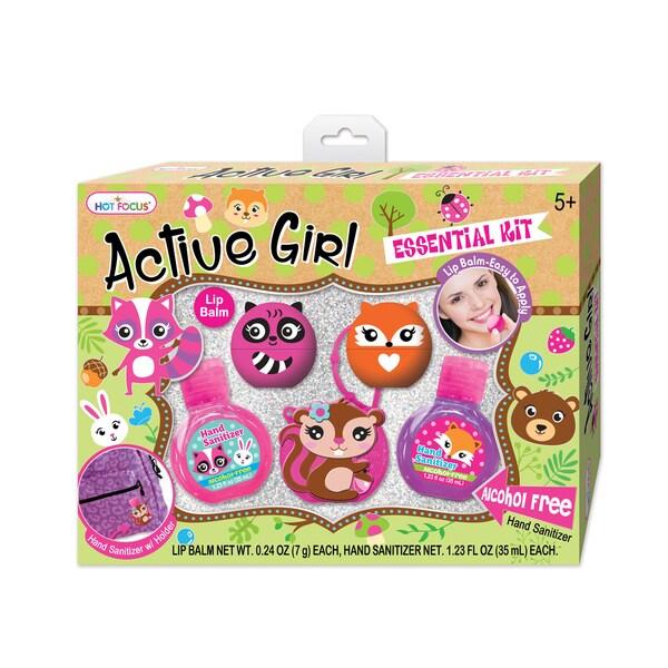 Hot Focus Flower Critter Active Girl Essential Kit