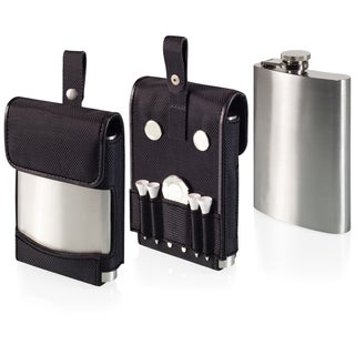 Golf Flask and Golf Accessories Set
