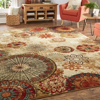 Mohawk Home Strata Caravan Medallion Multi (10' Square)