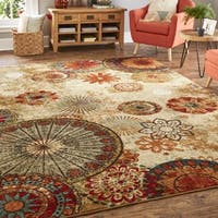 Mohawk Home Strata Caravan Medallion Multi (10' Square) Area Rug - 10' x 10'